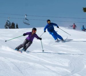 Both Squaw Valley and Alpine Meadows add additional terrain for holiday skiing