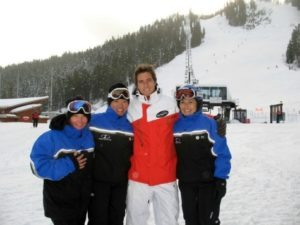 Ski with Olympian Jonny Moseley this weekend at Squaw Valley, Alpine Meadows