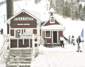 Homewood ski school hut