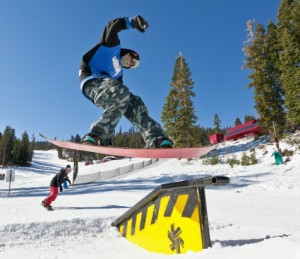 Northstar snowboarder Nov. 14, 2012
