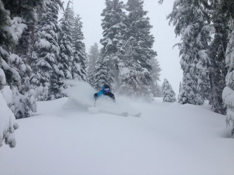 lake tahoe snow report: storms have dumped 2-3 feet on area ski resorts
