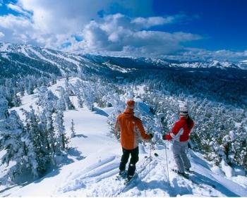 Ski Resort Mountain