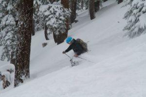 Northstar powder skier 12.8.13
