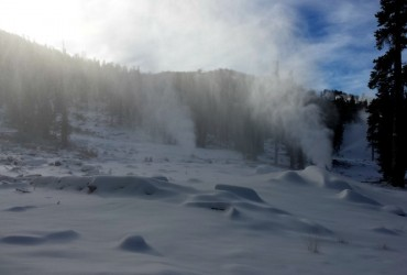 Heavenly ski resort gets 2 inches of snow; starts snowmaking