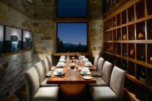 The Manzanita is an an eloquent restaurant at The Ritz-Carlton, Lake Tahoe, which is located mid-mountain at Norhtstar California ski resort.