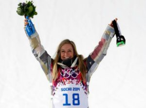 Olympic snowboard champ Jamie Anderson giving back