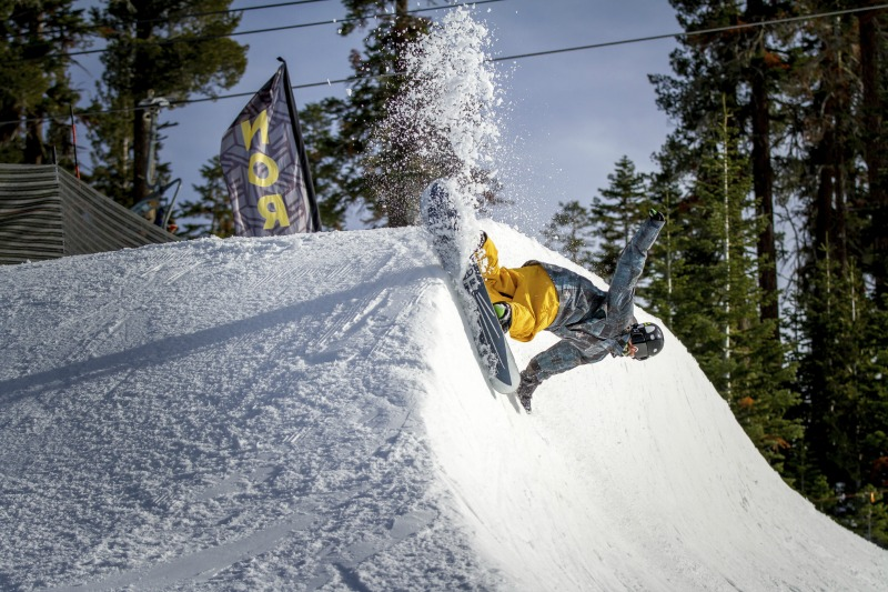 Northstar halfpipe opens this Friday