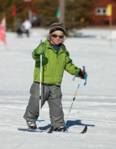 Any Mountain's Junior Trade Up program. Now entering its 10th season, the budget-friendly equipment program was created to assure skiing/ riding families with annual access to updated equipment at an affordable price – year after year.