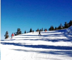 Level 3 skiers are confident novices that are able to make competent stops and execute round snow plow turns on beginner trails that aren't too challenging.