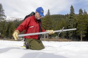 Sierra Nevada snowpack measures 136 percent of normal