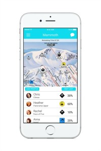 SkiLynx app ideal for skiing with friends, family
