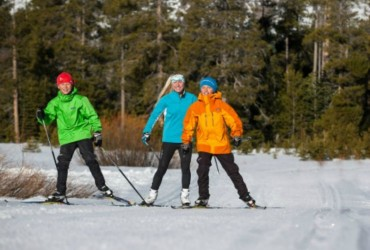 Tahoe Donner Cross Country Ski Area hosting Winter Festival