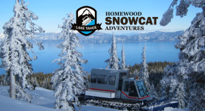 Homewood Snowcat Adventures at Tahoe ski resort