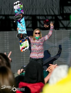 Jamie Anderson, who trains at Sierra-at-Tahoe, has 10 Winter X Games medals and is an Olympic Gold medalist.