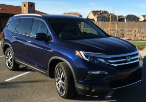 2016 Honda Pilot features major improvements