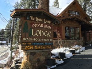 Location is one of many positives regarding Cedar Glen Lodge. It's 3½ miles to Stateline for gambling and 12 miles to beautiful Sand Harbor on the lake. For... 				</div> 						<a href=