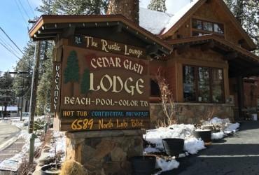 Cedar Glen Lodge in Tahoe has much to offer