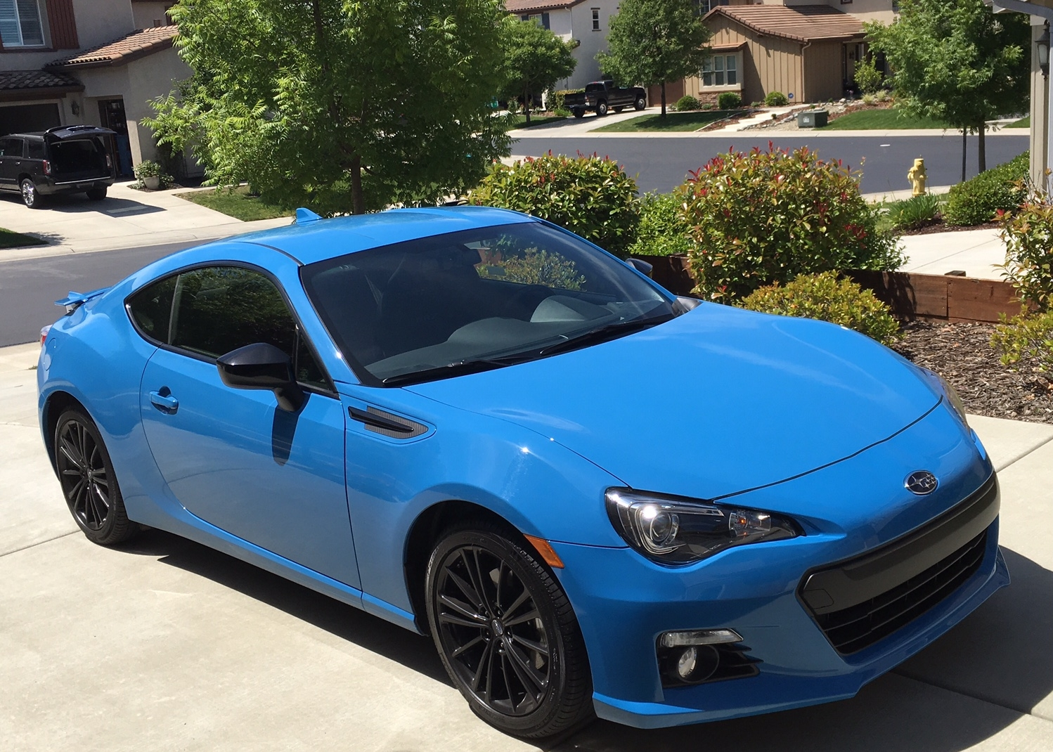 subaru brz: reasonably priced, old-school sports car - tahoe ski world