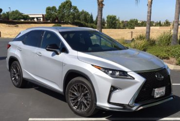 Revised Lexus RX 350 features controversial new grille
