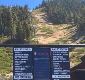 Lake Tahoe ski resorts await the start of winter