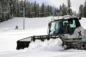 Sierra-at-Tahoe is preparing for Saturday's opening. It will have early-season conditions and limited terrain, accessed by two chairlifts and two surface lifts.