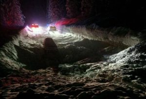 Two men rescued from car after Lake Tahoe avalanche