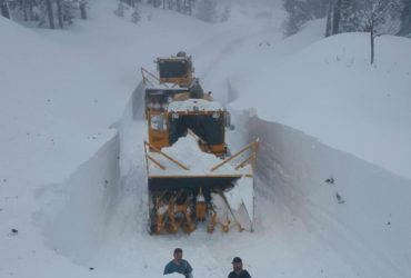 Largest snow total in Lake Tahoe since 1982