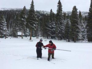 Lake Tahoe snow survey yields high numbers