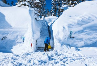 Amazing snow totals at Lake Tahoe ski resorts