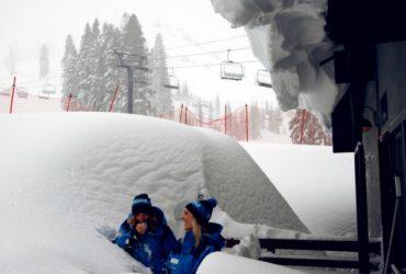 Sugar Bowl reporting 546 inches of snow this season