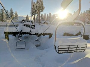 Snow continues at Lake Tahoe ski resorts