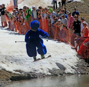 Fun spring skiing events at Squaw Alpine