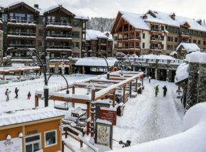 New snow total record for Northstar California
