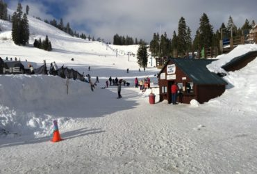 Final weekend of skiing at Donner Ski Ranch