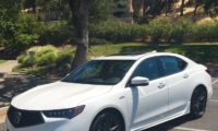 2018 Acura TLX sporting stylish new look
