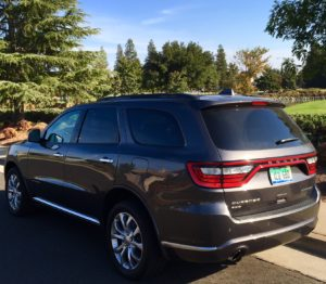 2017 Dodge Durango comfortable SUV with long trips
