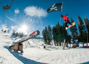 Boreal Mountain first California ski resort to open