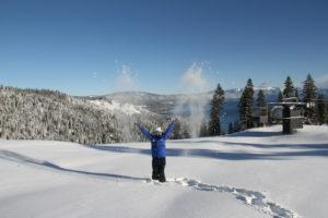 Snow arrives at Lake Tahoe ski resorts
