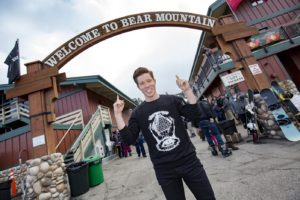 Shaun White hosting snowboarding event at Bear Mountain