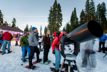 Tahoe Star Tours offers snowshoeing, stargazing