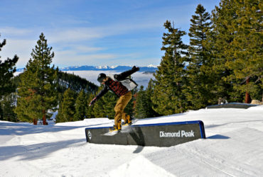Diamond Peak ski resort opens new terrain park