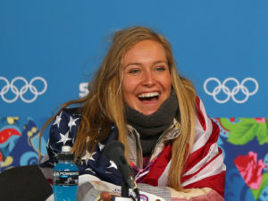 Olympic commentary: Jamie Anderson overcame severe conditions to capture gold