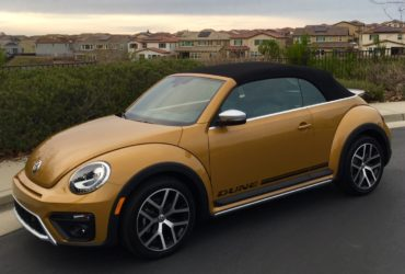 2018 VW Beetle Dune features peppy turbo engine