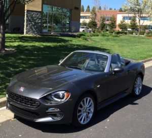 2018 Fiat Spider: Fun, affordable convertible