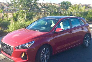 2018 Hyundai Elantra hatchback redesign
