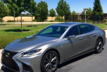 2018 Lexus LS 500 cool luxury sedan