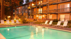 Forest Suites Resort ideal location in South Lake Tahoe