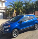 2018 Ford EcoSport lackluster SUV