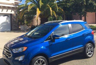 2018 Ford EcoSport lackluster SUV