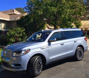 Redesign major plus for 2018 Lincoln Navigator